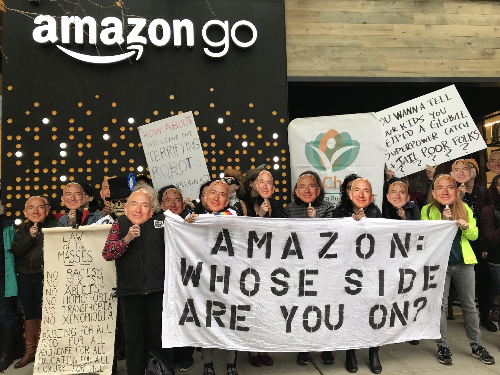 Send a Message to Jeff Bezos