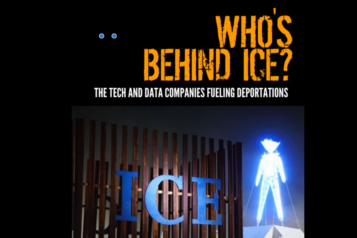 Who's Behind ICE Report