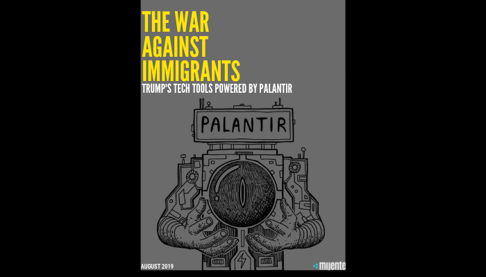 The War Against Immigrants
