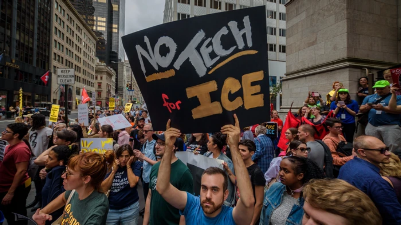 Activists Explain How Palantir's Tech Is Used in ICE Raids